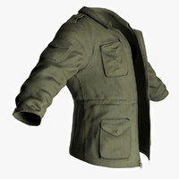Man's Jacket - Military Style